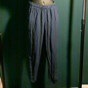 Abercrombie navy blue pajama sweat pants (6/$14)
